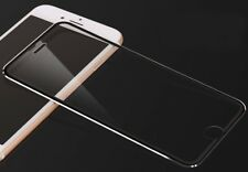 iPhone 7 black rim full cover tempered glass screen protector 3d 9h titanium