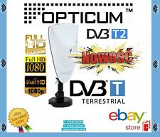 ANTENNA TV HD Digitale Ottici AX700 DVB-T Terrestre 9dB FM DAB