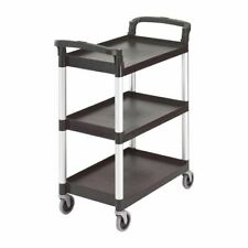More details for cambro cart in black polypropylene - stain resistant - 965 x 835 x 410 mm
