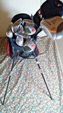 RAM ZX Tour Golf Set 1-3-5 Woods 3-4 Hybrid And  5-PW Irons Putter + Stand Bag