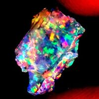 NATURAL ETHIOPIAN PLAY OF COLORS FIRE OPAL UNTREATED MINERALS DC31 DP05 04