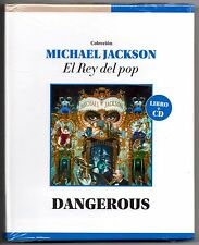 Michael Jackson Dangerous CD & Book: El Rey Del Pop Limited Edition Collectors