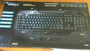 ROCCAT Isku ROC-12-721 USB Illuminated Gaming Keyboard Black