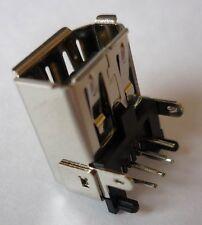 FireWire Stecker Einbaubuchse Steckverbinder gewink. horizont Printm Lötbuchse