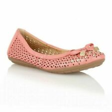 Naturalizer Ulysses Coral Ladies Slip on Ballerina - UK Size 3 Standard Fitting