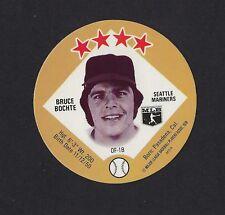 1978 MSA Big T / Tastee Freez Discs BRUCE BOCHTE Seattle Mariners MINT