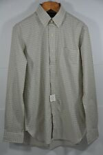 Men's Polo Ralph Lauren, Checker Mercerized-Cotton-Twill Pocket Shirt. Size M