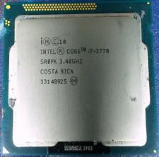 CPU PROCESSORE INTEL QUAD CORE i7-3770 (6M Cache, 3.40 UP 3.90 GHz) LGA 1155