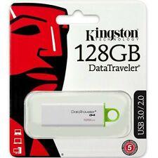 Kingston 128GB USB 3.0 / Flash Stick Pen DataTraveler G4 Memory Drive - Free P&P