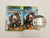 NFL Street Football - Microsoft Xbox OG Game Rare Complete 1-4 Players Tested