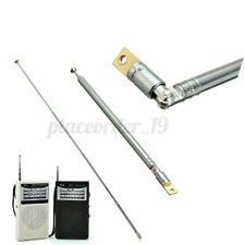 60cm Replacement 6 Sections Telescopic Antenna Aerial for Radio TV AM/FM Car ''