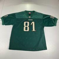 Vintage Philadelphia Eagles Jersey Size Adult XL Terrell Owens Green 81 Football