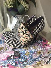 Irregular Choice Zapatos-Talla 39-Flick Flack