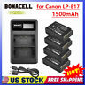 LP-E17 Battery For Canon EOS Rebel M6 M5 M3 T7i T6i T6s 750D SL2 Or Charger US