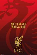 Poster Liverpool Liver Bird YNWA Soccer Football