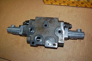 Genuine JCB 25/221836 Valve section, Sholve, JCB 416S AG Wheeled Loader