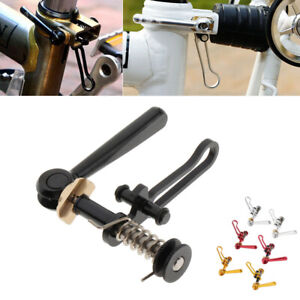 Bike Seat Post Clamp Seatpost Saddle Clip Buckle Parts for   Folding
