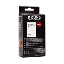 KRUPS F054 Cafetière Expresso/Kettle Descaler Poudre Anti-calc Kit Sachets
