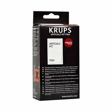 KRUPS F054 Espresso Coffee Machine/Kettle DESCALER Powder Anti-Calc Kit Sachets