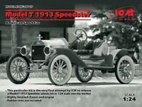 ICM 24015 Model T 1913 Speedster, American Sport Car plastic model kit 1/24