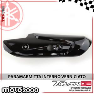 PROTEZIONE SUPERIORE MARMITTA SCARICO YAMAHA TMAX T MAX 500 2008/>2011 CARBONIO
