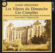 Chant Grégorien - Les Vêpres du Dimanche · Les complies