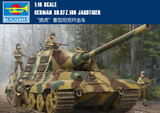 GERMAN SD.KFZ.186 JAGDTIGER 1/16 tank Trumpeter model kit 00923