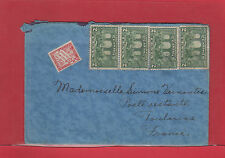 Lightly tied 4x2c Confederation issue cover to FRANCE postage due T30 centimes