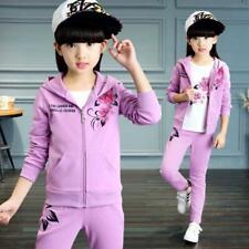 Одежда для девочек куртка Kids одежда толстовки + штаны девочка спортивный костюм спортивный костюм осень
