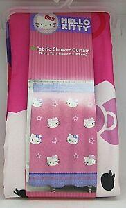 Hello Kitty Fabric Shower Curtain - FREE SHIPPING