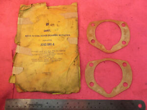 NORS 1949-79 FORD MERCURY Rear Wheel Outer Bearing Retainer Axle Seal Gaskets
