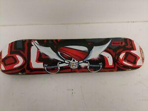 Blind Resin V Skateboard Deck Red Pirate Skull Reaper 78 x 19cm  F9Y106