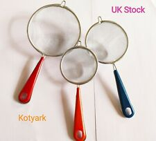 3 Pack Tea Coffee Strainer  - Stainless Steel Mesh Filter Herb Leafs Spice