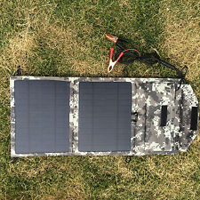 10.5 12V mono Solar Panel Portable for Winter outdoor SUV RV Motorcycle Boat