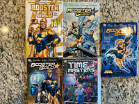 TPB Hardcover Booster Gold Graphic Novel Lot Big Fall New 52 Vol 1 2 3 Batman DC