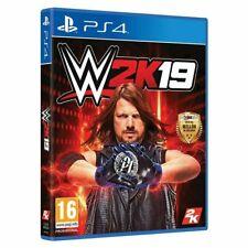 WWE 2K19 (PlayStation 4, 2018)