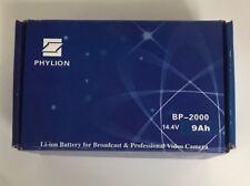 Phylion BP-2000 14.4V 9ah 130Wh V-Mount Battery