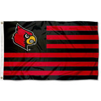 University of Louisville Cardinals Stars and Stripes Nation USA Flag