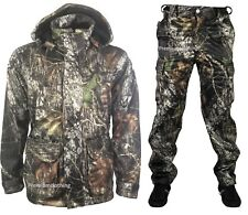 New Camouflage Hunting Jacket Trouser Softshell Jacket Shooting Coat Camo Top
