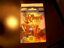 PET WIZARD 101 Game Card FAMILY DOLLAR! w/ Indigo Dragon Pet & Weakness Card
