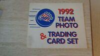 1991-92 Rochester Americans AHL Hockey Kodak Set of 26 in Folder  Buffalo Sabres
