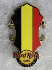 HARD ROCK CAFE BRUSSELS HEADSTOCK FLAG SERIES PIN # 80710