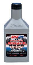 Amsoil MCV 20w50 Advanced Synthetic Motorcycle Oil 1x Quart 946mL Motul equiv
