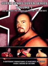 Super Stars Super Series Vol. 1 Greatest Pro Wrestlers 70s/80s (DVD) 27 matches