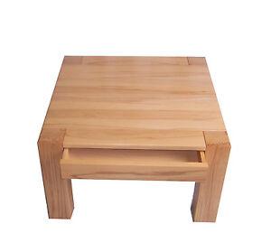 Couchtisch Holztisch Kernbuche massiv 75x75x55cm hoch. Sondermaße auf Anfrage !