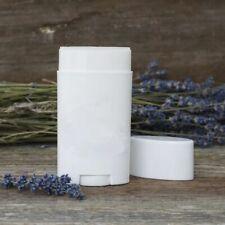 10pcs 75ml Empty White Oval Flat Tubes Deodorant Lip Balm Cosmetics Containers