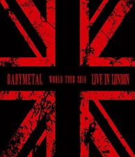 BABYMETAL - LIVE IN LONDON: BABYMETAL WORLD TOUR 2014  BLU-RAY NEW!