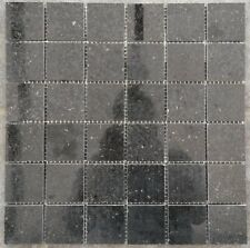 Granit Mosaik Matte Star Galaxy Schwarz 30x30 cm Poliert Fliesen 4,8 cm M041 NEU