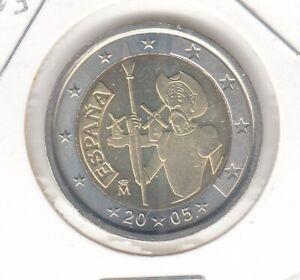 Spanien  2 Euro  2005  Don Quichote  bankfrisch