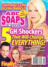 ABC Soaps In Depth Magazine February 28 2006 Alicia Leigh Willis Tristan Rogers
